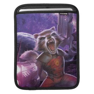 Guardians of the Galaxy | Rocket With Guns iPad Sleeve