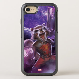 Guardians of the Galaxy | Rocket With Guns OtterBox Symmetry iPhone 8/7 Case