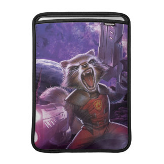 Guardians of the Galaxy | Rocket With Guns Sleeve For MacBook Air