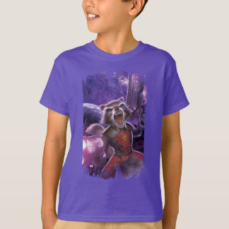 Guardians of the Galaxy | Rocket With Guns T-Shirt