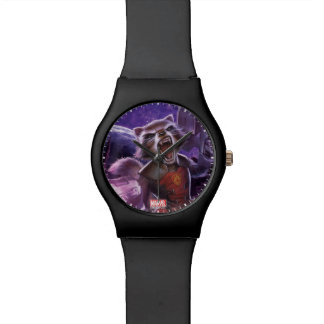 Guardians of the Galaxy | Rocket With Guns Wristwatches