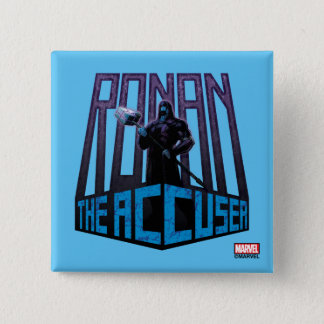 Guardians of the Galaxy | Ronan The Accuser 2 Inch Square Button