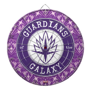 Guardians of the Galaxy | Round Vintage Logo Dartboard