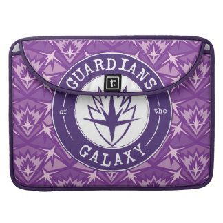 Guardians of the Galaxy | Round Vintage Logo Sleeve For MacBook Pro