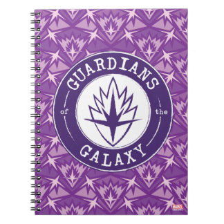 Guardians of the Galaxy | Round Vintage Logo Spiral Notebook