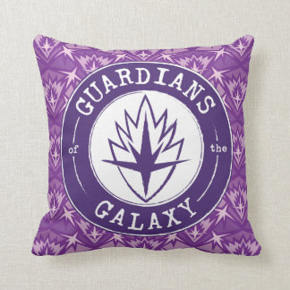 Guardians of the Galaxy | Round Vintage Logo Throw Pillow