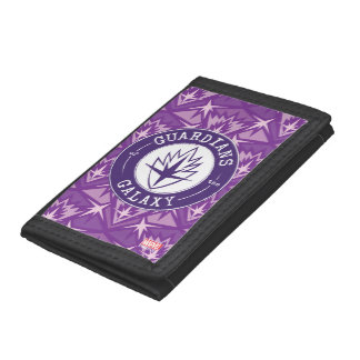 Guardians of the Galaxy | Round Vintage Logo Tri-fold Wallets