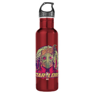 Guardians of the Galaxy | Star-Lord Badge 710 Ml Water Bottle