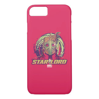 Guardians of the Galaxy | Star-Lord Badge iPhone 8/7 Case