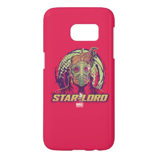 Guardians of the Galaxy | Star-Lord Badge Samsung Galaxy S7 Case