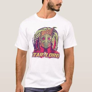 Guardians of the Galaxy | Star-Lord Badge T-Shirt