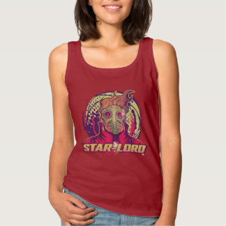 Guardians of the Galaxy | Star-Lord Badge Tank Top