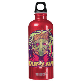 Guardians of the Galaxy | Star-Lord Badge Water Bottle