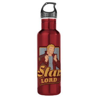 Guardians of the Galaxy | Star-Lord Cartoon Icon 710 Ml Water Bottle