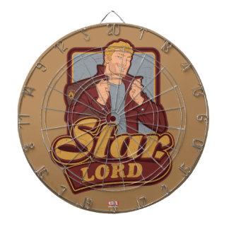 Guardians of the Galaxy   Star-Lord Cartoon Icon Dart Board