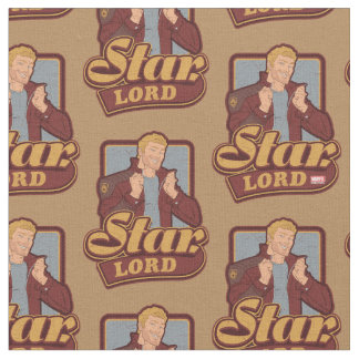 Guardians of the Galaxy | Star-Lord Cartoon Icon Fabric