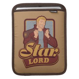 Guardians of the Galaxy | Star-Lord Cartoon Icon iPad Sleeve