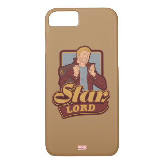 Guardians of the Galaxy | Star-Lord Cartoon Icon iPhone 8/7 Case