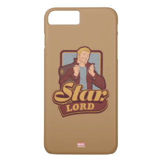 Guardians of the Galaxy | Star-Lord Cartoon Icon iPhone 8 Plus/7 Plus Case