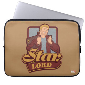 Guardians of the Galaxy | Star-Lord Cartoon Icon Laptop Sleeve