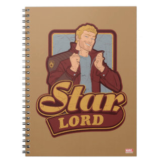 Guardians of the Galaxy | Star-Lord Cartoon Icon Notebook