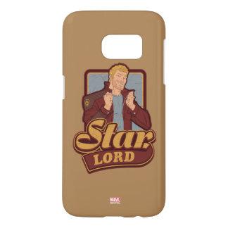 Guardians of the Galaxy | Star-Lord Cartoon Icon Samsung Galaxy S7 Case