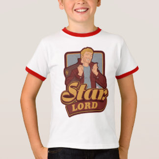 Guardians of the Galaxy | Star-Lord Cartoon Icon T-Shirt