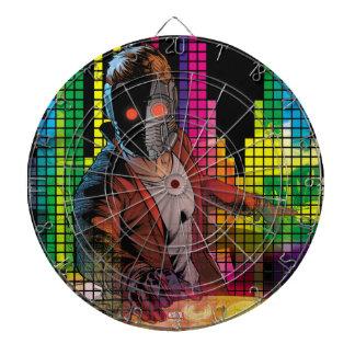 Guardians of the Galaxy   Star-Lord DJ Dartboard With Darts
