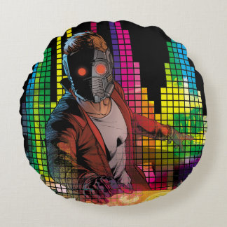 Guardians of the Galaxy | Star-Lord DJ Round Pillow