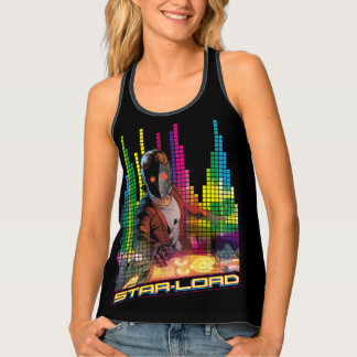 Guardians of the Galaxy | Star-Lord DJ Tank Top