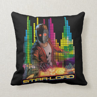 Guardians of the Galaxy | Star-Lord DJ Throw Pillow