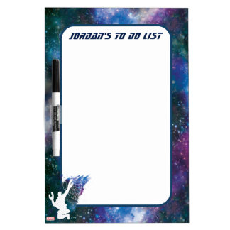 Guardians of the Galaxy | Star-Lord Galaxy Cutout Dry Erase Board