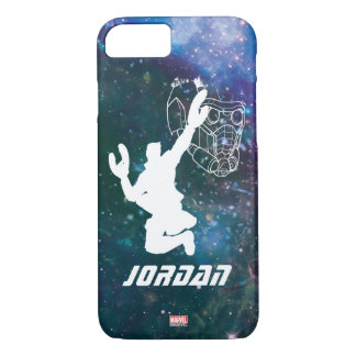 Guardians of the Galaxy | Star-Lord Galaxy Cutout iPhone 8/7 Case