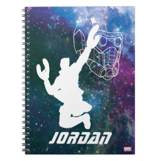 Guardians of the Galaxy | Star-Lord Galaxy Cutout Notebook