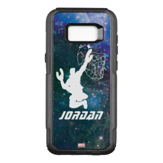 Guardians of the Galaxy | Star-Lord Galaxy Cutout OtterBox Commuter Samsung Galaxy S8+ Case