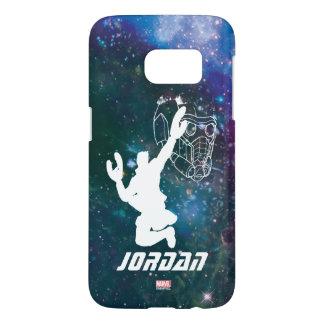 Guardians of the Galaxy | Star-Lord Galaxy Cutout Samsung Galaxy S7 Case