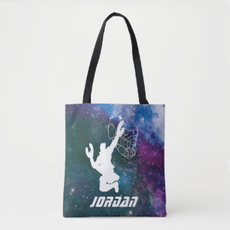 Guardians of the Galaxy | Star-Lord Galaxy Cutout Tote Bag