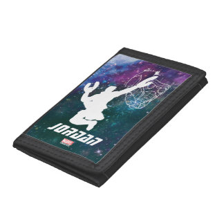 Guardians of the Galaxy | Star-Lord Galaxy Cutout Trifold Wallet