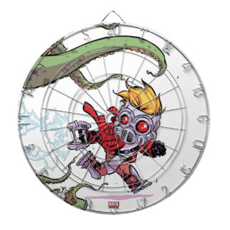 Guardians of the Galaxy | Star-Lord Gets Away Dartboard