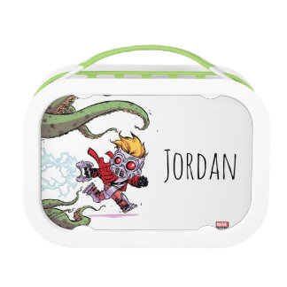 Guardians of the Galaxy | Star-Lord Gets Away Lunchbox