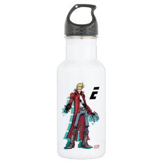 Guardians of the Galaxy | Star-Lord Mugshot 532 Ml Water Bottle
