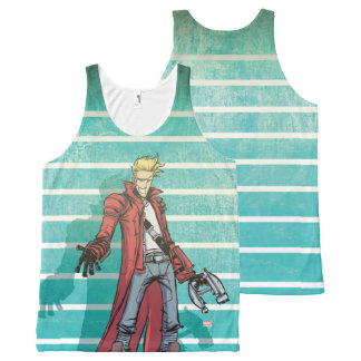 Guardians of the Galaxy | Star-Lord Mugshot All-Over-Print Tank Top