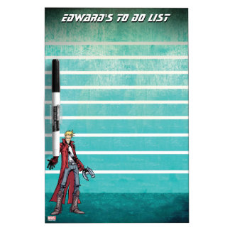 Guardians of the Galaxy | Star-Lord Mugshot Dry Erase Board
