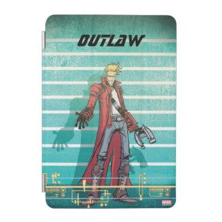 Guardians of the Galaxy   Star-Lord Mugshot iPad Mini Cover