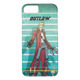 Guardians of the Galaxy | Star-Lord Mugshot iPhone 8/7 Case