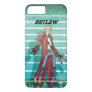 Guardians of the Galaxy | Star-Lord Mugshot iPhone 8 Plus/7 Plus Case