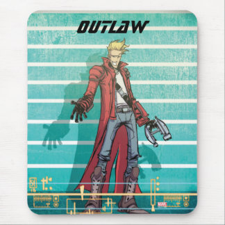 Guardians of the Galaxy | Star-Lord Mugshot Mouse Pad