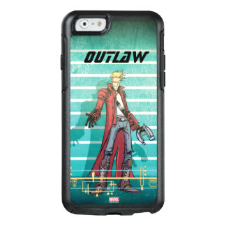 Guardians of the Galaxy | Star-Lord Mugshot OtterBox iPhone 6/6s Case