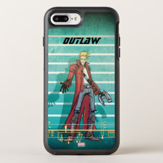 Guardians of the Galaxy | Star-Lord Mugshot OtterBox Symmetry iPhone 8 Plus/7 Plus Case