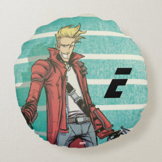 Guardians of the Galaxy | Star-Lord Mugshot Round Pillow